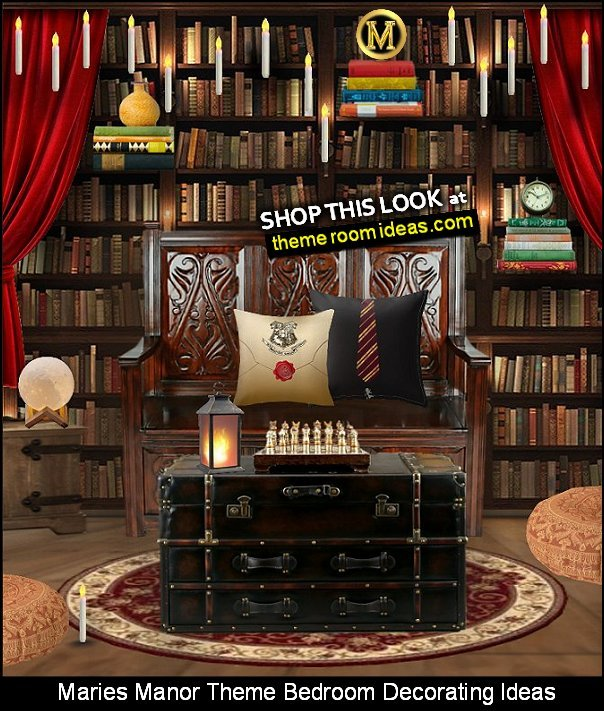 home decorating home library harry potter style book themed decor home decor for book lovers