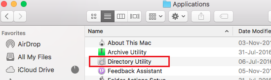 Use directory Utility to delete a user account from Mac