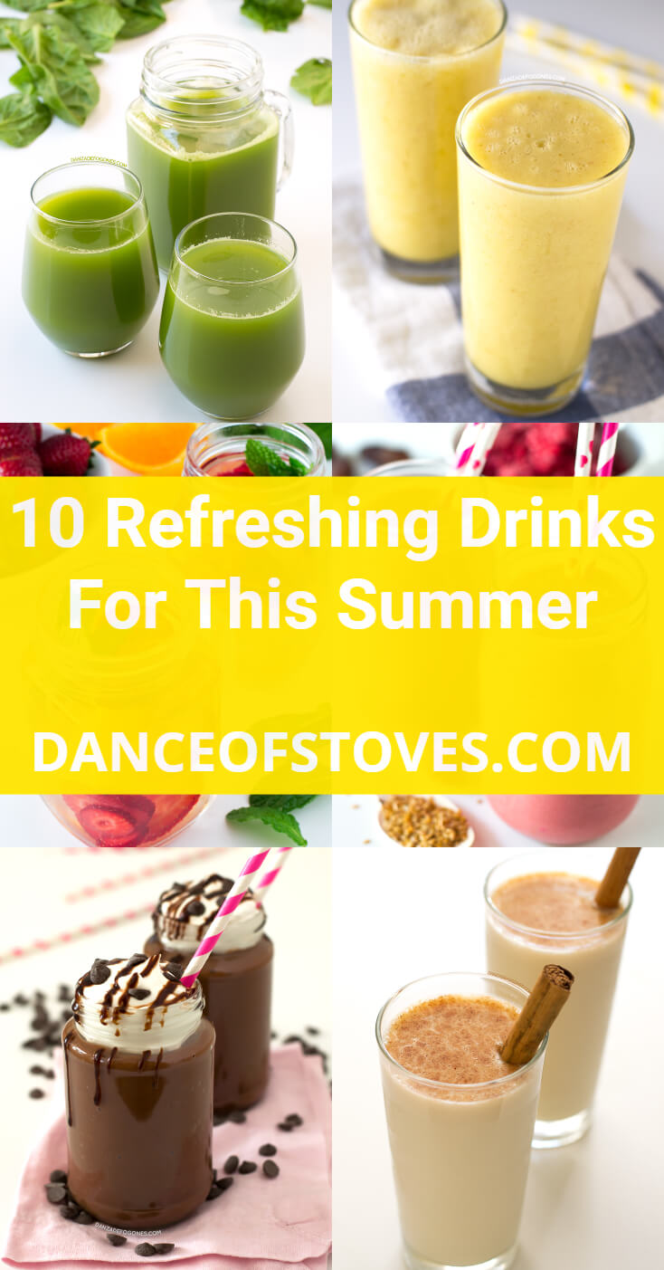 10 Refreshing Drinks For This Summer