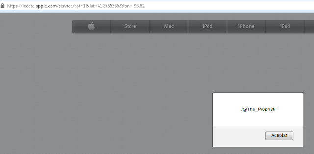 XSS Vulnerability in Apple website