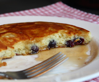 How to Blueberry Pancakes
