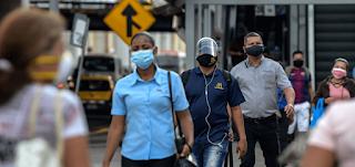 منظمة الصحة العالمية تنصح بارتداء أقنعة الوجه في الأماكن العامة