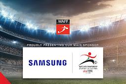 سامسونج تستعرض أبرز منتجاتها وحلولها المتطورة بطولة غرب آسيا لكرة القدم في العراق