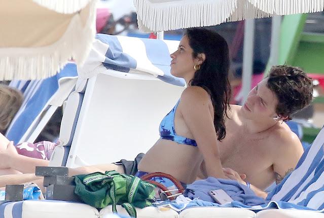 Camila Cabello Have Fun Beach Date in Miami brightlifeusa