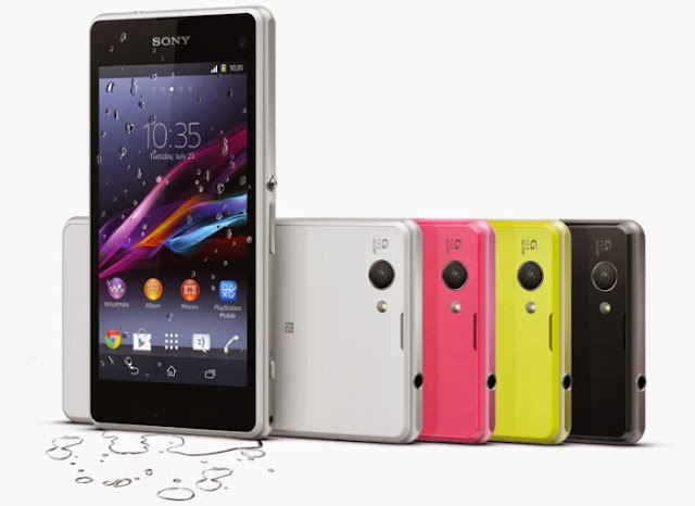 Sony, Sony Xperia Z1 Compact, android, ponsel, smartphone, ponsel kamera terbaru