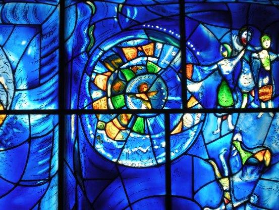 Marc Chagall's Windows, Jerusalem