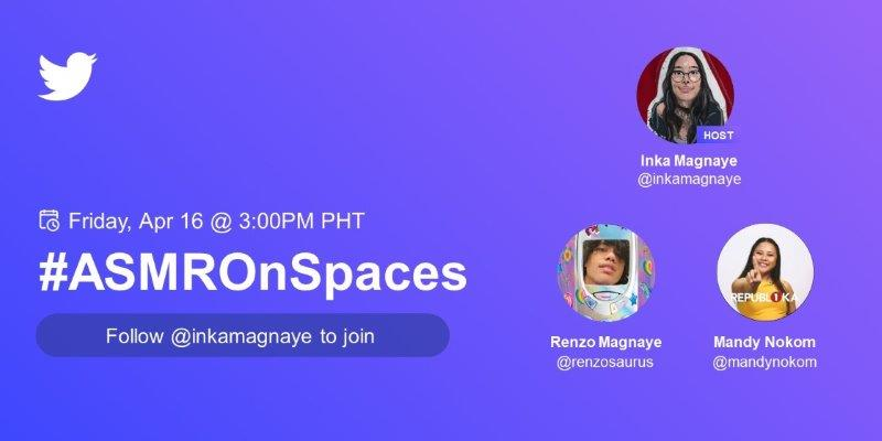 #ASMROnSpaces