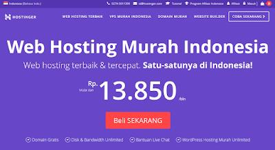 Rekomendasi Web Hosting dan Domain Terbaik