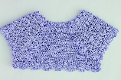7 - Crochet Imagen Lindo bolero a crochet y ganchillo muy fácil y sencillo por Majovel Crochet.