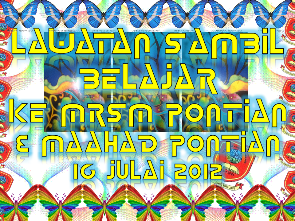 SK TAMAN KOTA JAYA: lasbela 2012-pontian