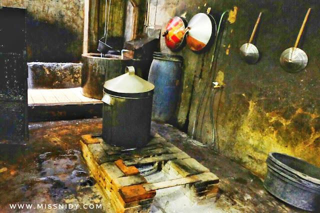 dapur pembuatan telur asin