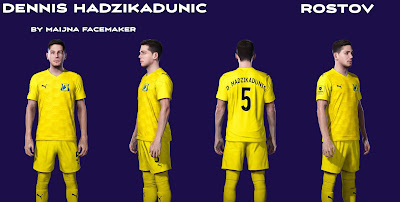 PES 2021 Faces Dennis Hadzikadunic by Maijna