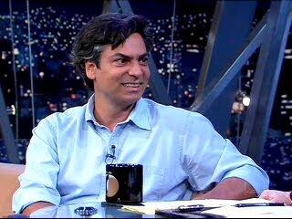Diogo Mainardi no programa de Jô Soares