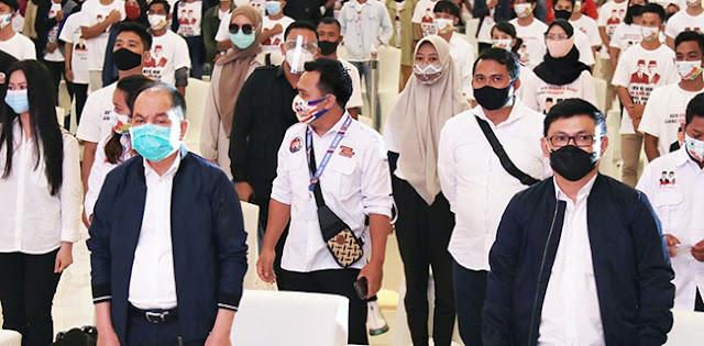 Deklarasi Relawan Berjuang, Ben-Ujang Janji Buka 50.000 Lapangan Kerja Di Kalteng