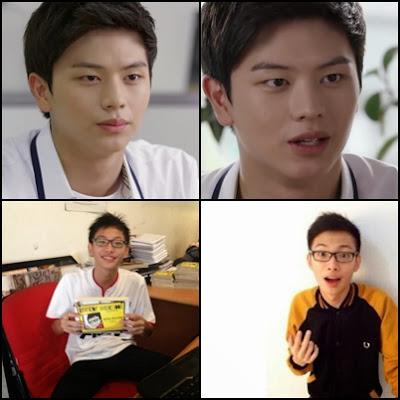 Yook Sung-Jae dan Kevin Anggara