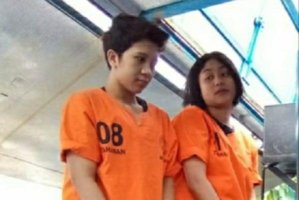 2 Wanita Cantik Pembawa Sabu Lintas Pulau Dihukum 17 Tahun