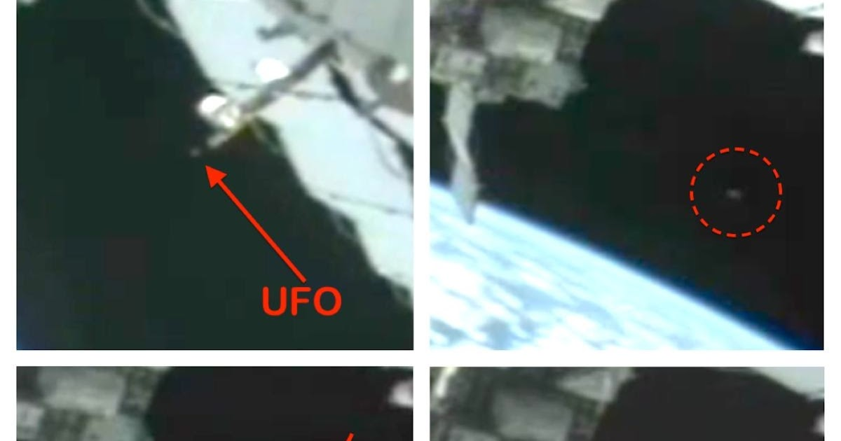 UFO SIGHTINGS DAILY: UFO Near ISS Moves Away And Enters ...
