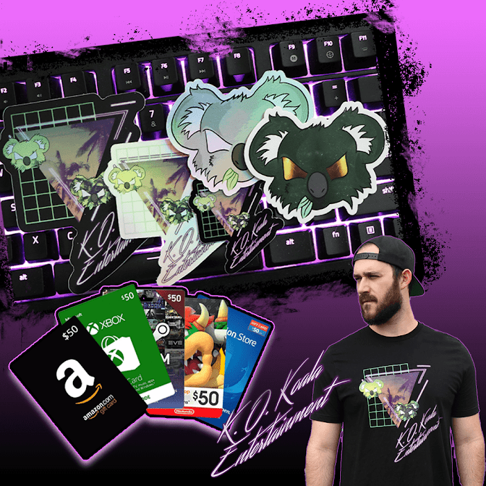 $50 Gift Card Giveaway + Koalatech merch, sticker bundle ( Worth Over : $100)