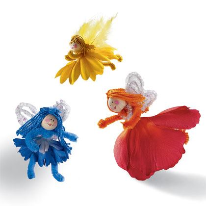 Craft: Flower Friends