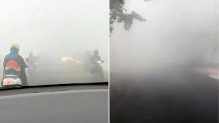 Incendios forestales arrasan en Indonesia y el humo se extiende a países vecinos.