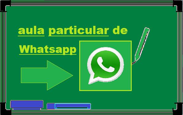 Aula Particular de  Whatsapp
