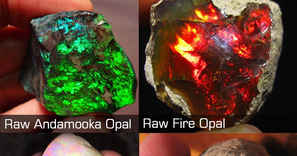 Types of Opal With Photos