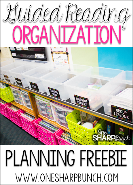 Do you struggle with how to organize your guided reading block?  Come take a look at how this Kindergarten teacher organizes her guided reading activities and tackles guided reading in her Kindergarten classroom!  Don't forget to grab the FREE guided reading lesson plan template and guided reading schedule!