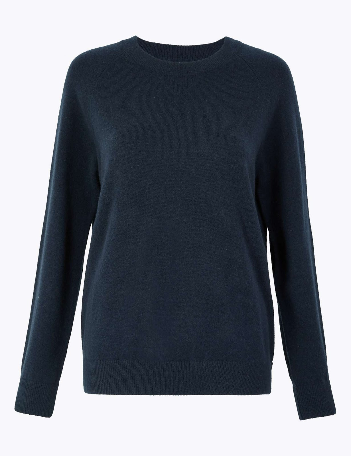 Marks and Spencer pure cashmere relaxed sweatshirt