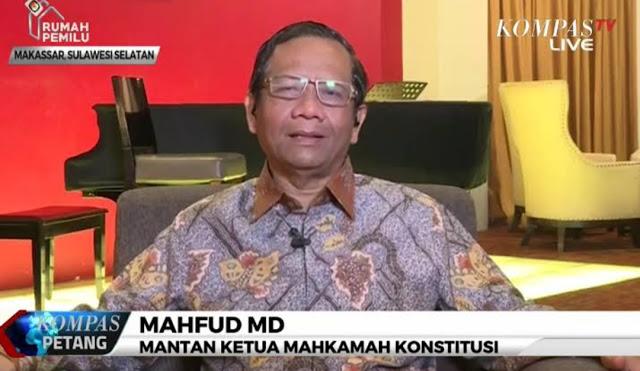 Mahfud MD Yakin Gugatan Prabowo-Sandi Diterima MK, tapi Bukan Berarti Tuntutannya Dikabulkan