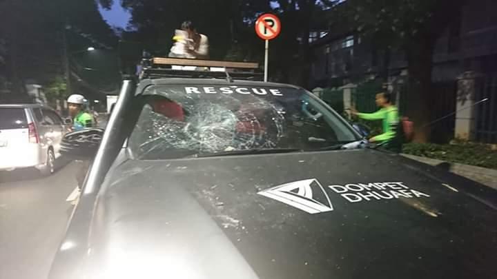Innalillahi... Ini Kronologi Penyerangan Terhadap Tenaga Medis Dompet Dhuafa