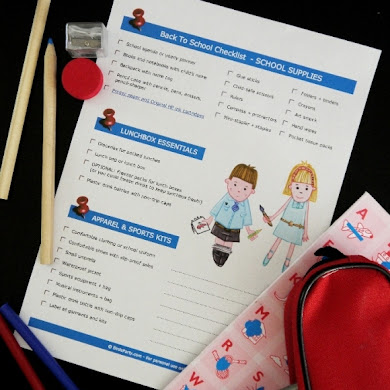 Free Printable Back to School Checklist with HP