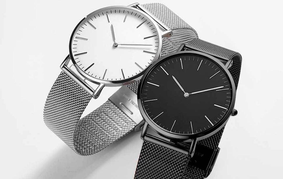 xiaomi twentyseventeen ultra-thin quartz watch in crowdfunding