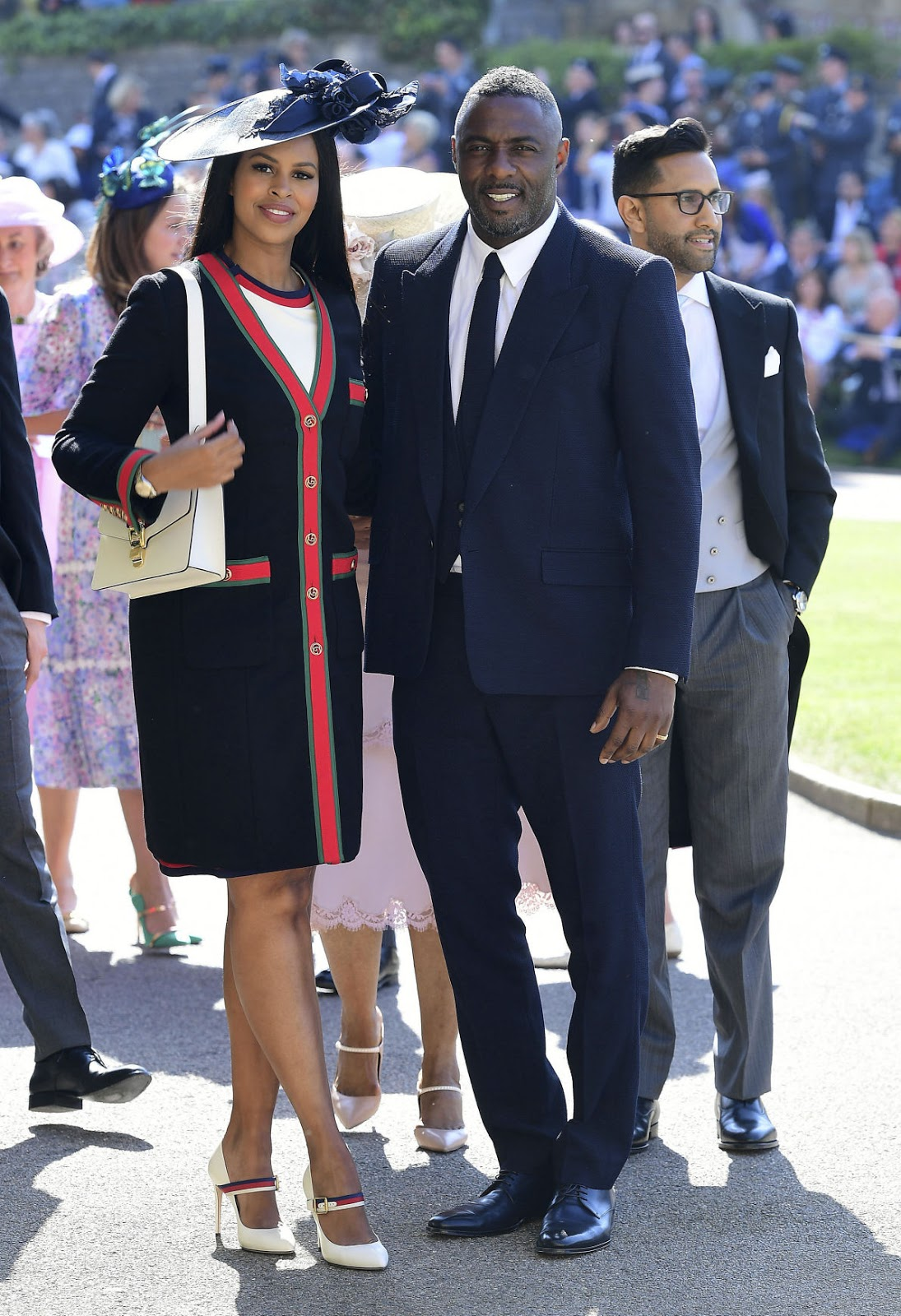 Idris Elba and Sabrina Dhowre