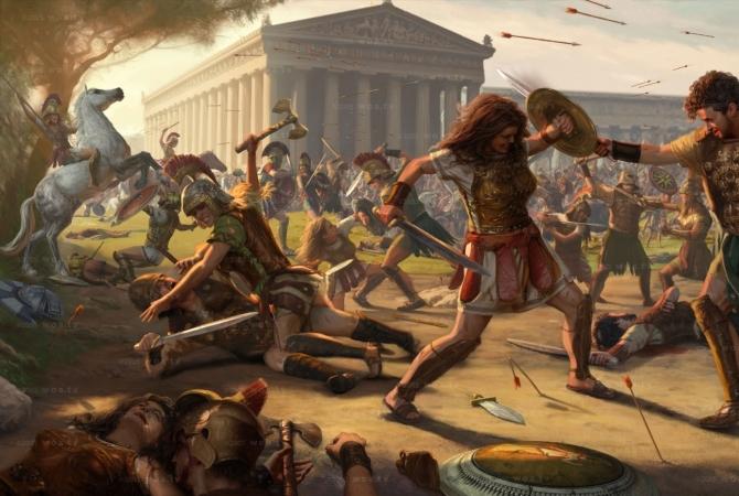 İzmir'in İsmi ve  Yunanlılara kök söktüren savaşçı amazon kadınları,