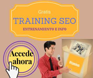 Gratis tu entrenamiento SEO con información de vanguardia en optimización de búsquedas