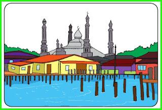 materi kelas 6 tema 1 kehidupan sosial budaya masyarakat brunei darussalam