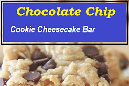 Side Pannel Chocolate Chip Cookie Cheesecake Bar