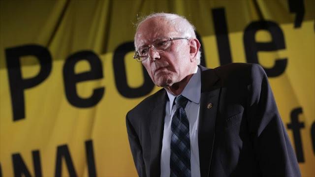 Sanders: EEUU miente para provocar desastres en el mundo