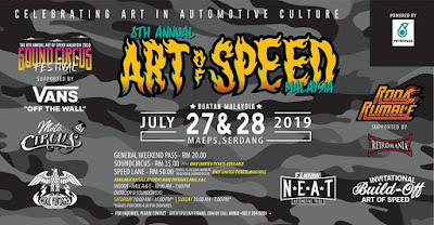 Warih Homestay - MAEPS Art Of Speed 2019