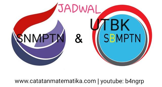 Jadwal SNMPTN, UTBK, dan SBMPTN 2020