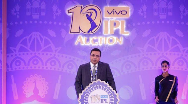 IPL live auction results 2017