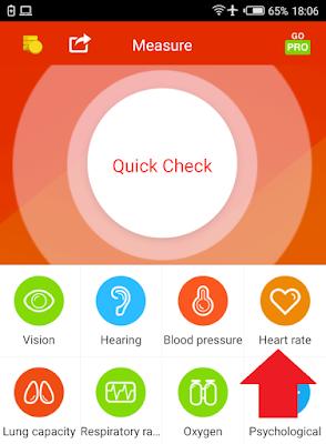 Cara Mengecek Tekanan Darah dan Denyut Jantung Pakai Android