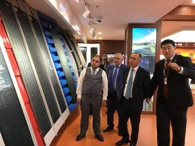 Empresas chinas evalúan instalar fabrica de paneles solares en Armenia