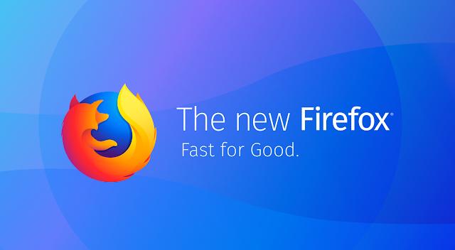 تحميل عملاق التصفح فيرفوكس كونتينيوم ( Mozilla Firefox Quantum) باخر أصدار 58.0.2