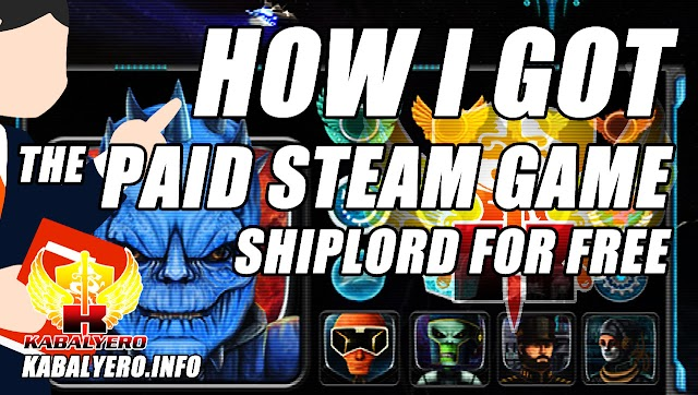 How I Got The Paid Steam Game, Shiplord, For FREE