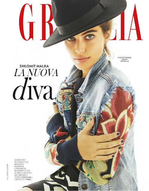 Fashion Model, @ Shlomit Malka - Grazia Italia, December 2015