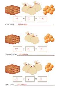 Respuestas Apoyo Primaria Desafíos Matemáticos 2do Grado Bloque 2 Lección 28 ¿Cuántas naranjas?