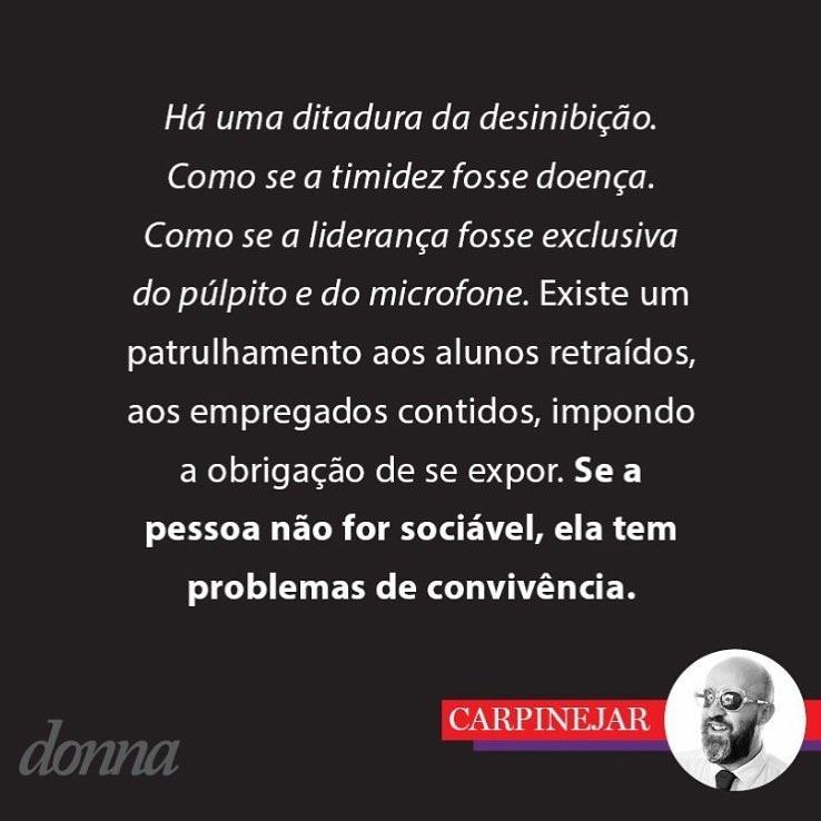 Ditadura da Desinibição - Salvem os Tímidos