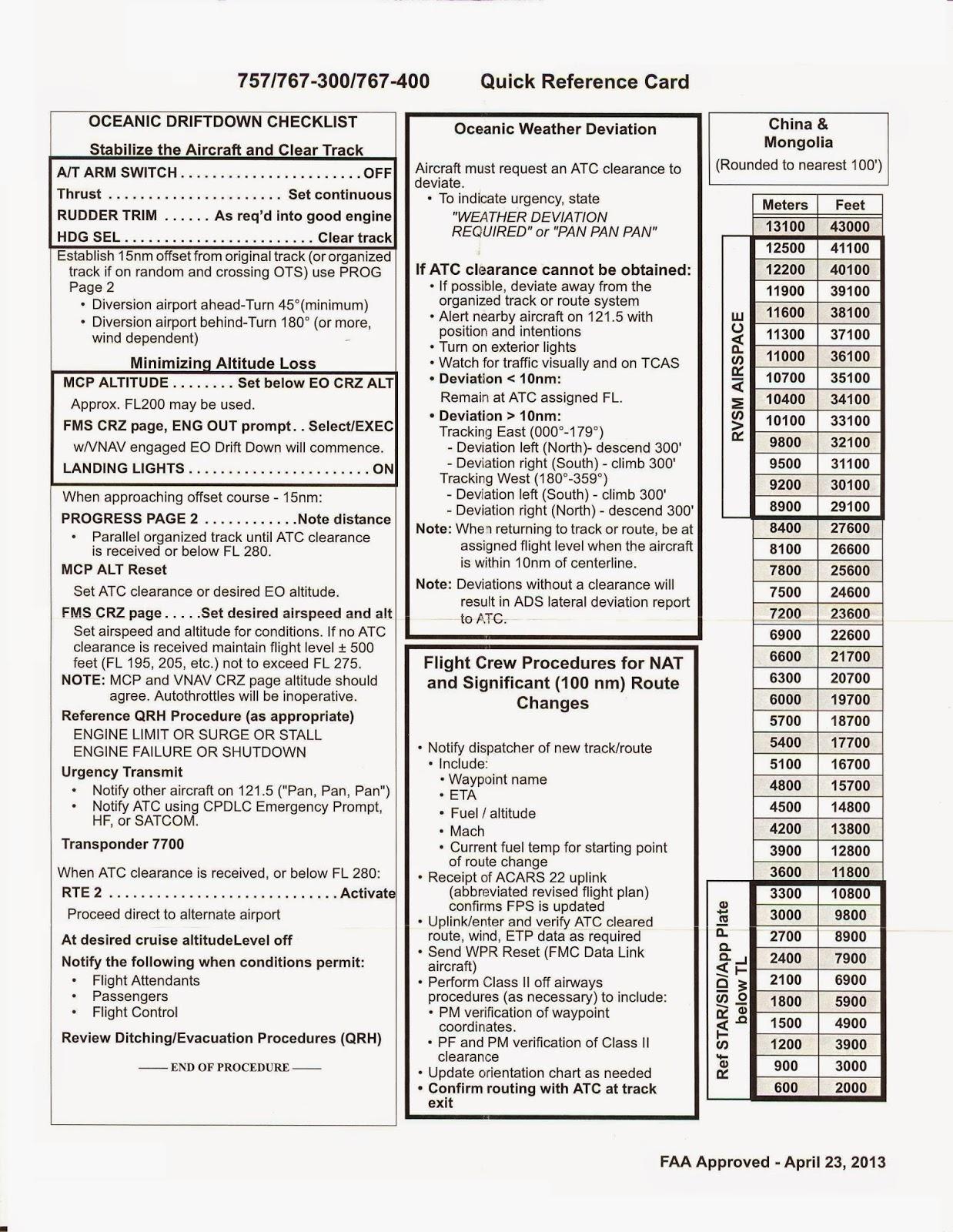 737 300 Flight Manual