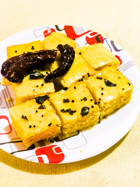 Quick and Easy Instant Khaman Dhokla Recipe - Homemade Instant Khaman Dhokla